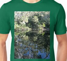 Pool Reflections, Royal National Park, Australia 2013 Unisex T-Shirt