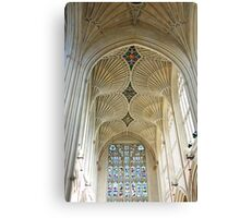Bath Abbey Nave Canvas Print
