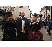 The Goth Weekend at Whitby, Oct 2011. 33 Photographic Print
