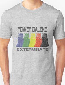 Power Daleks Unisex T-Shirt