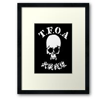 The Front of Armament - T.F.O.A Framed Print