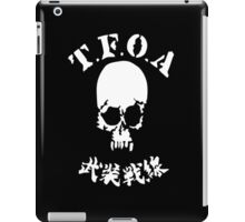 The Front of Armament - T.F.O.A iPad Case/Skin