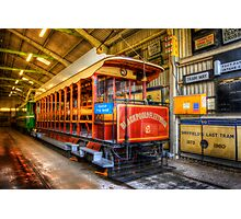 Tram No. 2 Blackpool & Fleetwood Photographic Print