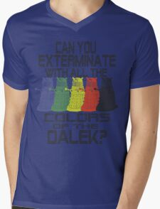 Daleks use all the colors Mens V-Neck T-Shirt