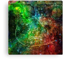 Clockwork Universe 2 Canvas Print