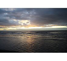 Sunset Cleveleys Photographic Print