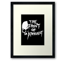 The Front of Armament Framed Print
