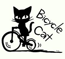 Bicycle Cat by BATKEI