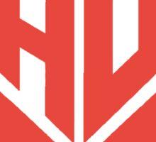 Jauz Logo Red Sticker