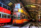 Tram 812 Glasgow Corporation by Yhun Suarez