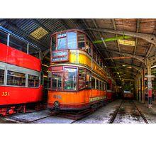Tram 812 Glasgow Corporation Photographic Print