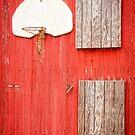 """""""Farm League"""" - basketball hoop on farm by ArtThatSmiles"""