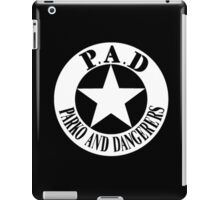 Parko And Dangerers - P.A.D iPad Case/Skin