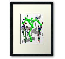 Brush 3 Framed Print