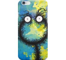 The creatures from the drain painting 30 iPhone Case/Skin