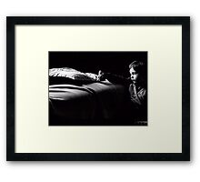 I don't  have anyone to play.... Framed Print