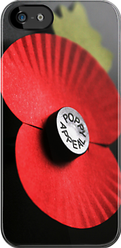 Poppy iPhone case by patjila