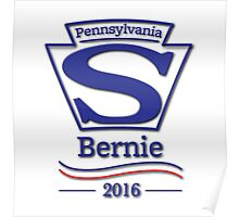 Pennsylvanians for Bernie Sanders Poster