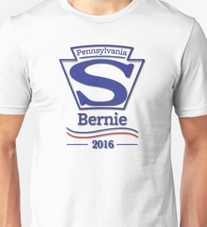 Pennsylvanians for Bernie Sanders Unisex T-Shirt