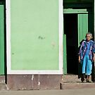 On The Streets Of Trinidad by David Sundstrom
