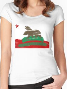 New California Republic Women's Fitted Scoop T-Shirt