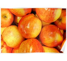 A Is For Really Vibrant Apples Poster