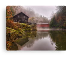 Morning At the Mill Canvas Print