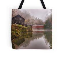 Morning At the Mill Tote Bag