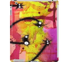 The Creatures From The Drain painting 27 iPad Case/Skin