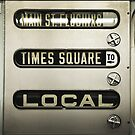 Times Square Local by Aleksandar Kolundzija