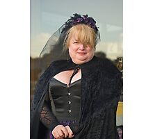 The Goth Weekend at Whitby, Oct 2011. 39 Photographic Print