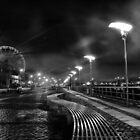The Quays at Night by Patrick Horgan