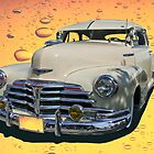 Circa 1948 Chevy Coupe Classic by Heather Friedman