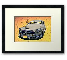 Circa 1948 Chevy Coupe Classic Framed Print