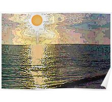 Fried Egg Sunset Poster