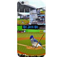 GO JAYS GO BLUEJAY BASEBALL APPAREL-PILLOW-JOURNAL-TOTE BAG-SCARF-PICTURE-ECT.. iPhone Case/Skin