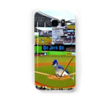 GO JAYS GO BLUEJAY BASEBALL APPAREL-PILLOW-JOURNAL-TOTE BAG-SCARF-PICTURE-ECT.. Samsung Galaxy Case/Skin