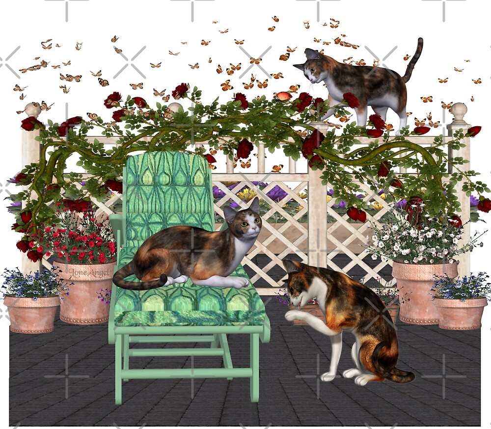 Lazy Days .. June Cats by LoneAngel