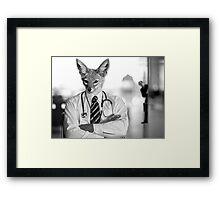 Dr. Jackal & Mr. Hide Framed Print