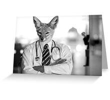 Dr. Jackal & Mr. Hide Greeting Card