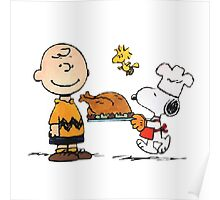 snoopy chiken Poster