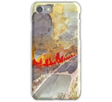 Veldfire in Magaliesburg iPhone Case/Skin