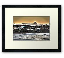 Sunrise Line Ups Framed Print