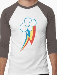 Rainbow Dash Cutie Mark Men's Baseball ¾ T-Shirt