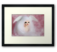 Angels come to visit us, and we only know them when they are gone.   Framed Print