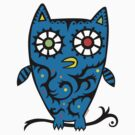 Tattoo Owl by Andi Bird