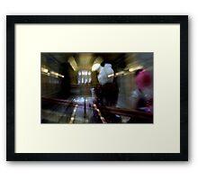 The White Rabbit Arrives Framed Print