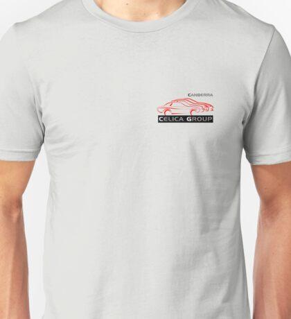 Canberra Celica Club - Light pocket design Unisex T-Shirt