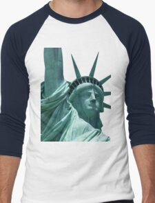 Statue of liberty Men's Baseball ¾ T-Shirt
