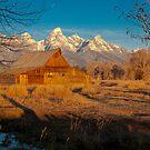 Moulton Barn by Gary Lengyel